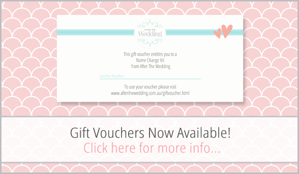 Name Change Gift Voucher